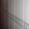 Reparar trecho de plaqueta en pared cocina