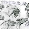 Bosquejos y concept art acerca de un inmueble