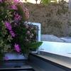 3 jardineras de tubo de aluminio