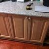 Muebles de cocina encima fregadero