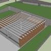 Estudio para construcción de un cerramiento con muro de carga