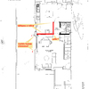 Derribar 3 tabiques planta baja duplex