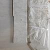 Pieza de marmol blanco 115 x 25 x 3 o 3