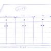 Un aparador: modulo con puertas de cristal y ciegas