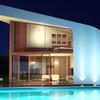 Construir casa prefabricada de hormigón, madera y con grandes ventanales