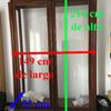 Transporte en barcelona de mueble vitrina (sólo la estructura, cristales ya desmontados) ~se requiere elevador en la recogida