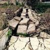 Ppto apilar piedra muro caído y colocar alambrada,  o bien levantar el muro depende coste cada opción