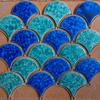 Azulejos forma escama de pez