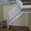 Cerramiento y armario bajo escalera