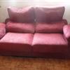 Tapizado de un sofa de dos plazas y otro de tres
