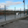 Instalación de valla de cerramiento modular