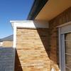 Cerrar pequeña terraza con muro