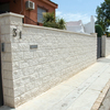 Construcción muros bloque
