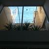 Techar patio interior con cristal o policarbonato