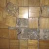 """Reparación de pavimento de """"madera"""" levantado y barnizado"""