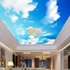 Pintar techo y paredes de un dormitorio inspirado en el cielo