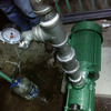 Instalación de presión y purificación de agua