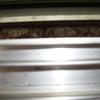 Impermeabilización ventana fachada y reparación laminado madera