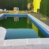 Instalación tarima exterior zona piscina