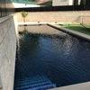Cubierta media o alta para piscina