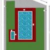 Reforma recinto piscina camping privado