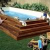 Construcción piscina de hormigón de 2,5 x 5