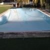 Retirada antiguo borde y solar borde piscina