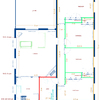 Construir tabiques y enlucir habitaciones