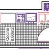 Diseño cocina piso en construcción