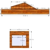 Plataforma exterior en madera de ipe teka o similar
