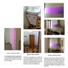 Trabajo de carpintería y colocación de 2 azulejos
