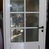 Puerta Aluminio Acristalada con Rejilla Inferior Salida Gases