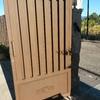 Suministro puerta metálica peatonal entrada propiedad