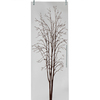 Puerta corredera de cristal opaco doble hoja con dibujo de árbol en mutxamel- alicante