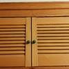 Cambiar dos puertas mallorquinas de un armario