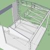 Hacer estructura metalica porche
