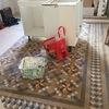 Abrillantado suelo mosaico varias estancias vivienda