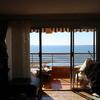 Cerramiento terraza con cortinas de cristal (obra nueva)