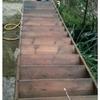 Balaustrada de madera para escalera madera