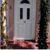 Puerta de entrada exterior de pvc