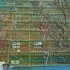 Alquiler de andamio europeo para revestimiento de fachada con aislante termico