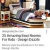 Crear cama barco para un niño