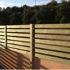 Valla de madera de privacidad 10 mts