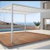 Estructura barata para poner techo un garaje
