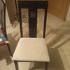 Tapizar respaldo y asiento 6 sillas