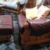 Tapizar 1 sofa , 2 sillones y 1 posa pies