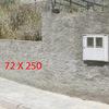 Rematar muro exterior con valla