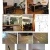 Reparación de daños por agua en oficina