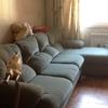 Tapizar un sofa de 4 plazas con chaise lounge