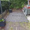 Colocar suelo de baldosa en jardin